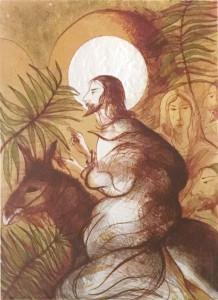 Antonio Nocera- L'entrata in Gerusalemme