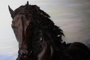 Marco Giusti – Cavallo Frisone