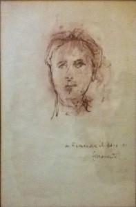 Ilario Fioravanti – Ritratto donna
