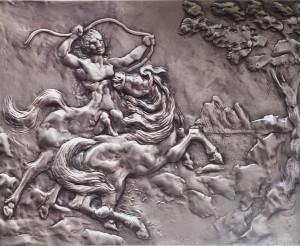 Aligi Sassu – Chirone il centauro