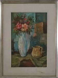 Amleto Cencioni – Vaso di fiori