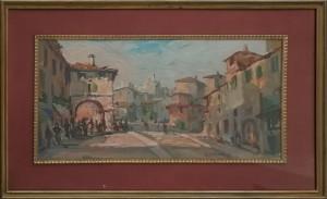 Amleto Cencioni – Paesaggio urbano