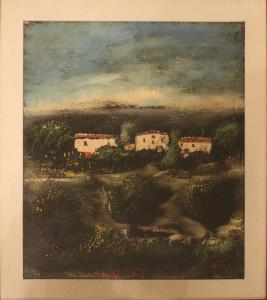 Franco Delicati – Paesaggio Umbro