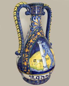 Vaso Maiolica – Riproduzione british museum
