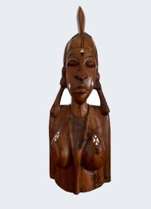 Busto africano femminile