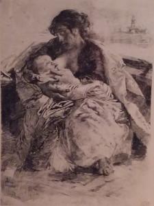 Mosè Bianchi – La madre
