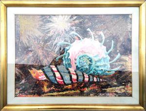 Natalino Arfelli – Natura morta con chiocciola di mare