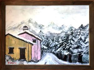 Gian Pietro Cosseddu – Paesaggio Innevato
