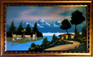 Bianchi – Paesaggio sul lago