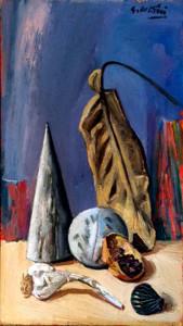 Giulio Ruffini – Natura morta con aglio