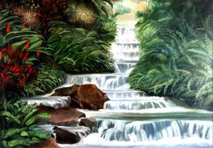 Emilio Navarino – Scorcio sulla cascata