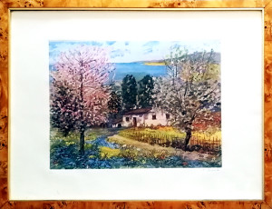 Michele Cascella – Casa in campagna