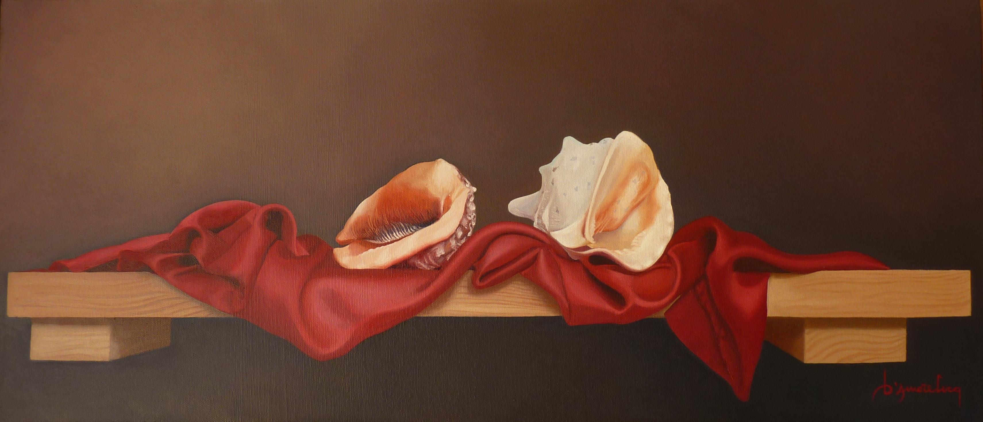 Luca D'amore – Conchiglie su mensola