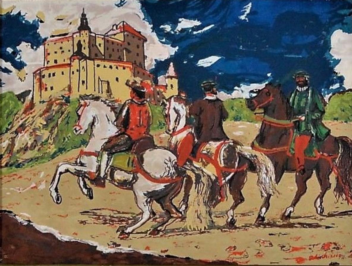 Giorgio De Chirico – Ritorno al castello