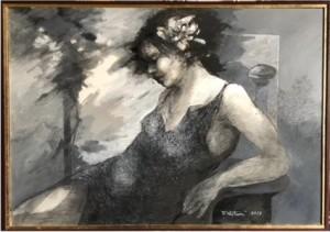 Antonio Notari – Donna seduta