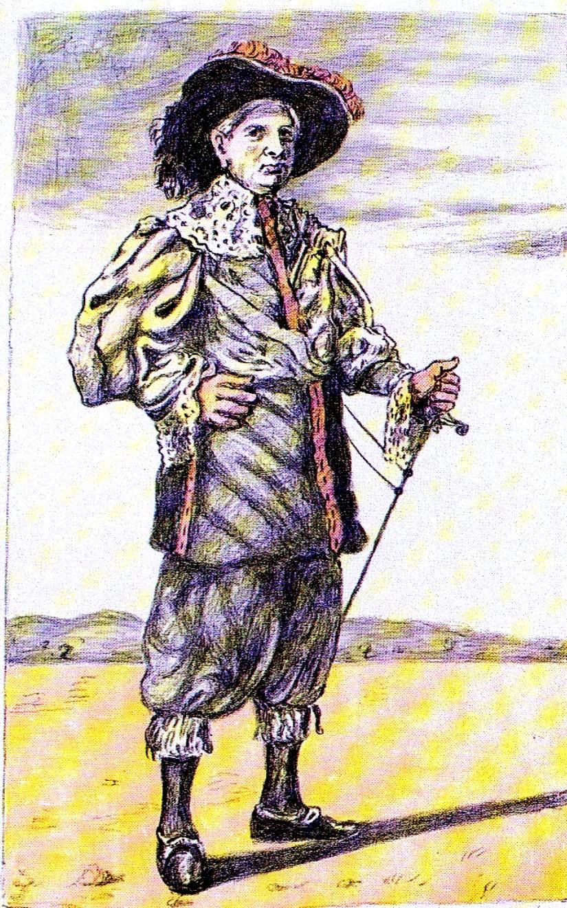 Giorgio De Chirico – Autoritratto