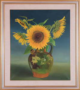 Luca D'amore – Girasoli su vaso