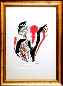 Renato Guttuso – Tenendo un fiore