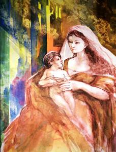 Jacques Canonici – Madonna con Bambino