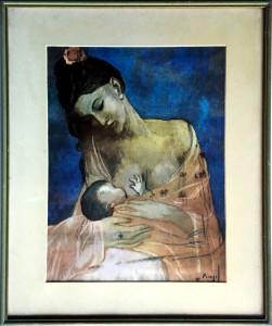 Pablo Picasso – Maternità