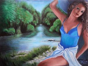 Linda di Carlo – Sul fiume Sangro