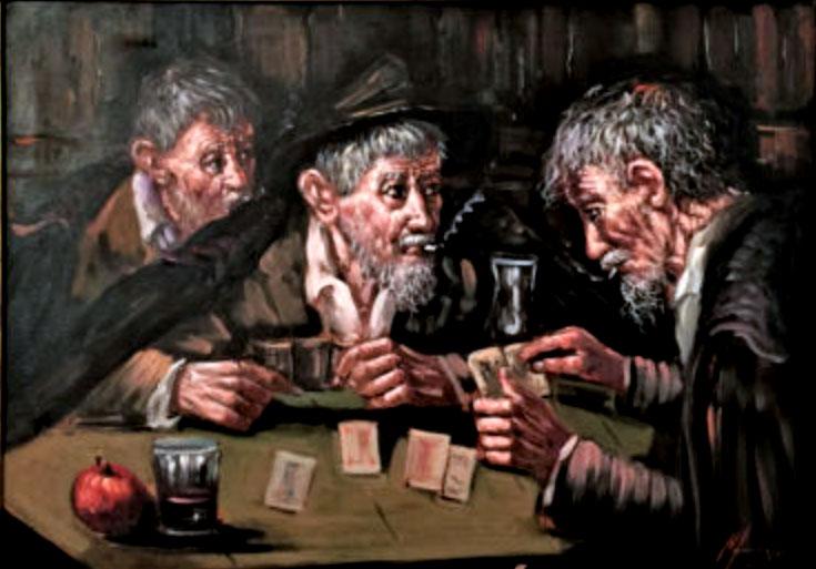 Tullio Grassi – I giocatori di carte