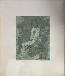 G. Blandino – Nudo di donna
