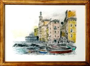 Michele Cascella – Paesaggio marino