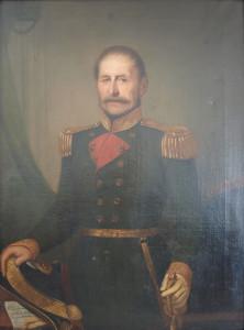 Adeodato Malatesta – Ritratto di uomo in uniforme