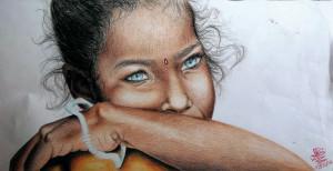 Angelica Buzi – La bambina indiana