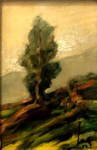 V. D. Barberio – Paesaggio con albero