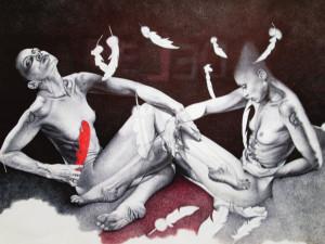 Adele Ceraudo – Leda e il cigno