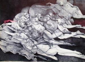 Adele Ceraudo – La creazione di Adamo
