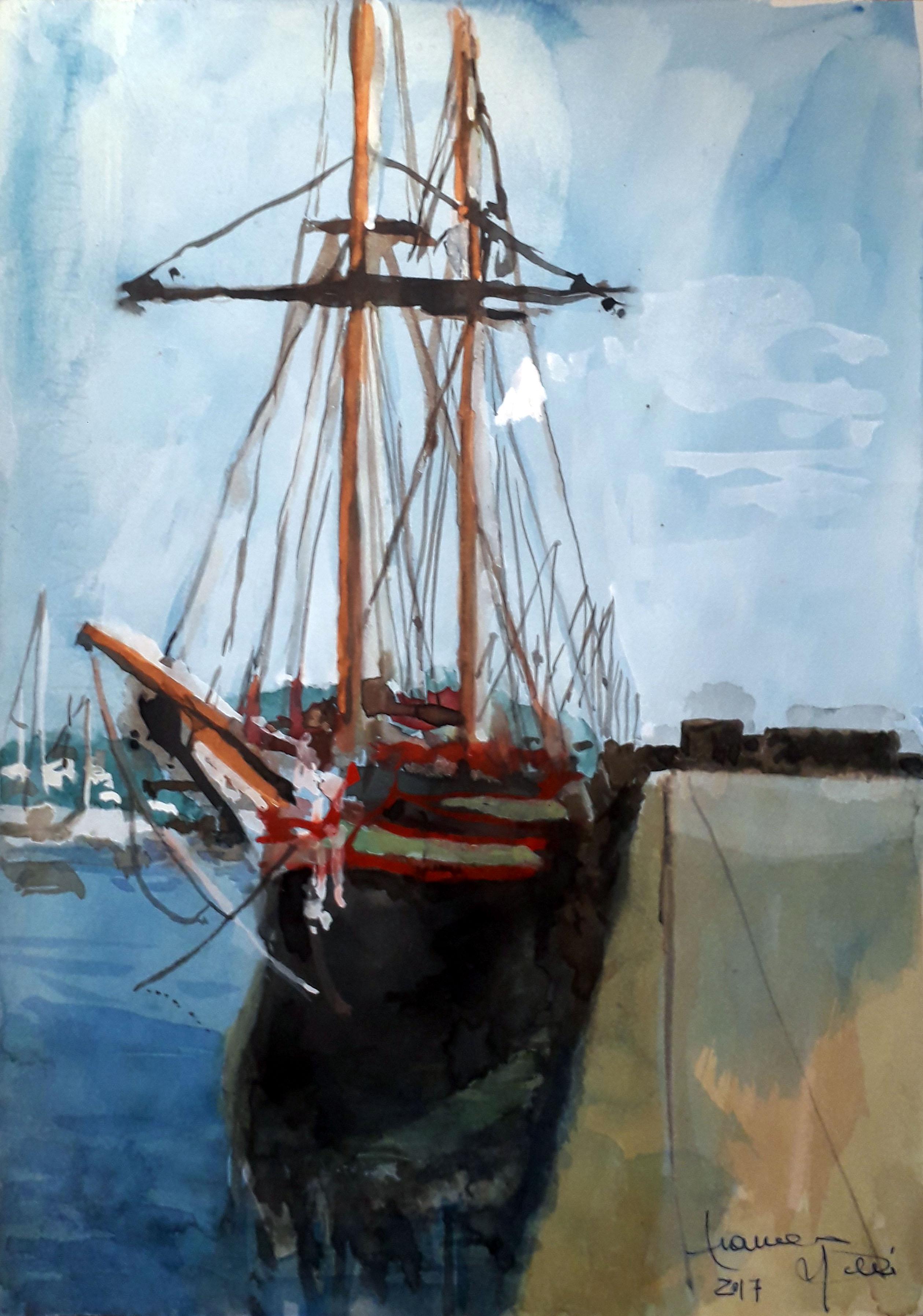 Franco Neri – Antico vascello a La Spezia