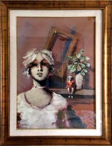 Umberto Bianchini – Volto di donna