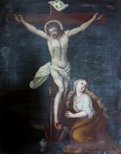 Artista sconosciuto – Crocifissione con Maddalena