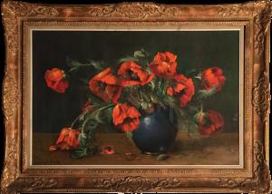 Jaak Van Den Seylbergh – Vaso di Papaveri