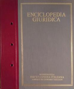 Enciclopedia Giuridica – Treccani