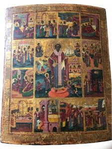 Artista sconosciuto – San Nicola e storie di San Nicola