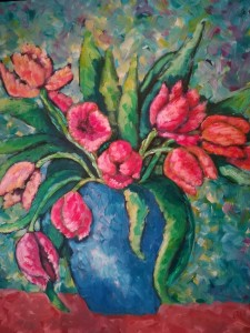 Anna Maria Inviati – Colore fra i tulipani