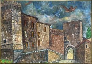 Giovanni Guglielmi – Il castello con porta antica