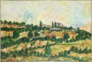 Giovanni Guglielmi – Paesaggio a Salceto