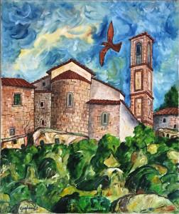 Giovanni Guglielmi – Vecchio borgo a Mensano