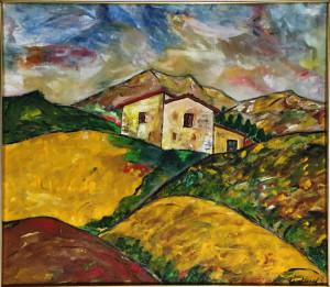 Giovanni Guglielmi – Colline lucane in estate