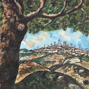 Giovanni Guglielmi -A San Gimignano