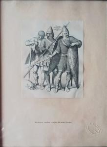 Artista sconosciuto – Onda d'Oro, itinerari d'oriente, stampa cavalieri