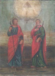Artista sconosciuto – Rappresentazione santi Filippo e Giacomo