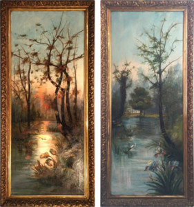 Artista sconosciuto – Paesaggi
