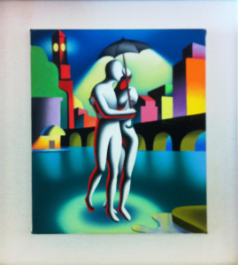 Mark Kostabi – Cloudy with a chance of love