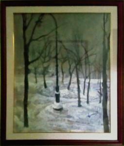 Sergio Fabbri – Paesaggio invernale